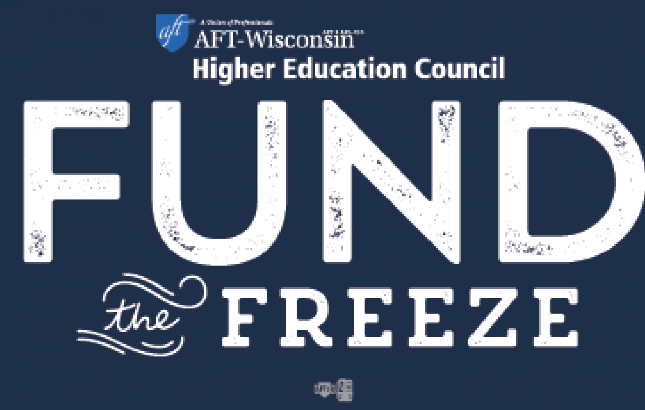 AFT fund the freeze logo