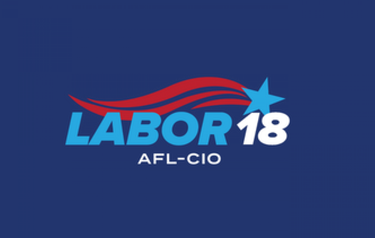 photo - Labor 18 logo from AFL-CIO
